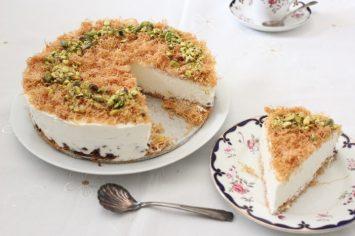 מזרח תיכון מושלם – עוגת גבינה קדאיף חלומית של יהודית מורחיים