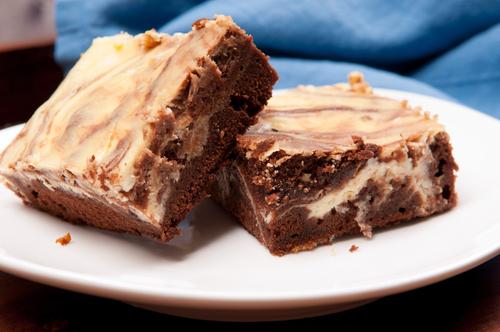בראוניז שוקולד גבינה של שי-לי