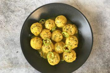 מהשוק אל המטבח המנצח - קולרבי ממולא ברוטב לימון