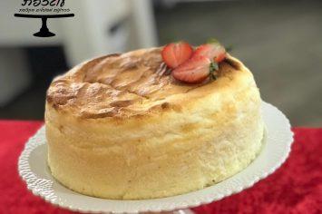 עוגת גבינה אפויה ללא ייסורי מצפון
