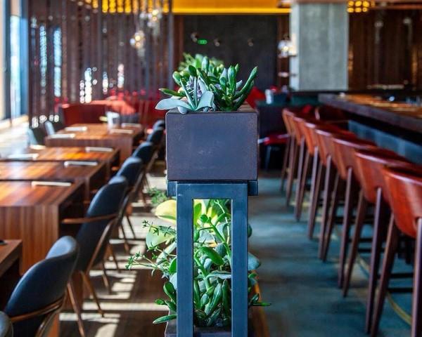 """עיצוב מודרני וצעיר. מסעדת נישי (צילום: יח""""צ)"""