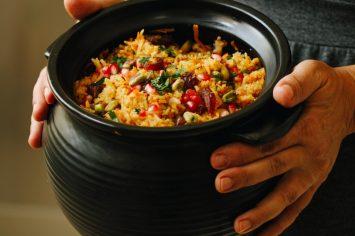 אורז חגיגי עם ירקות