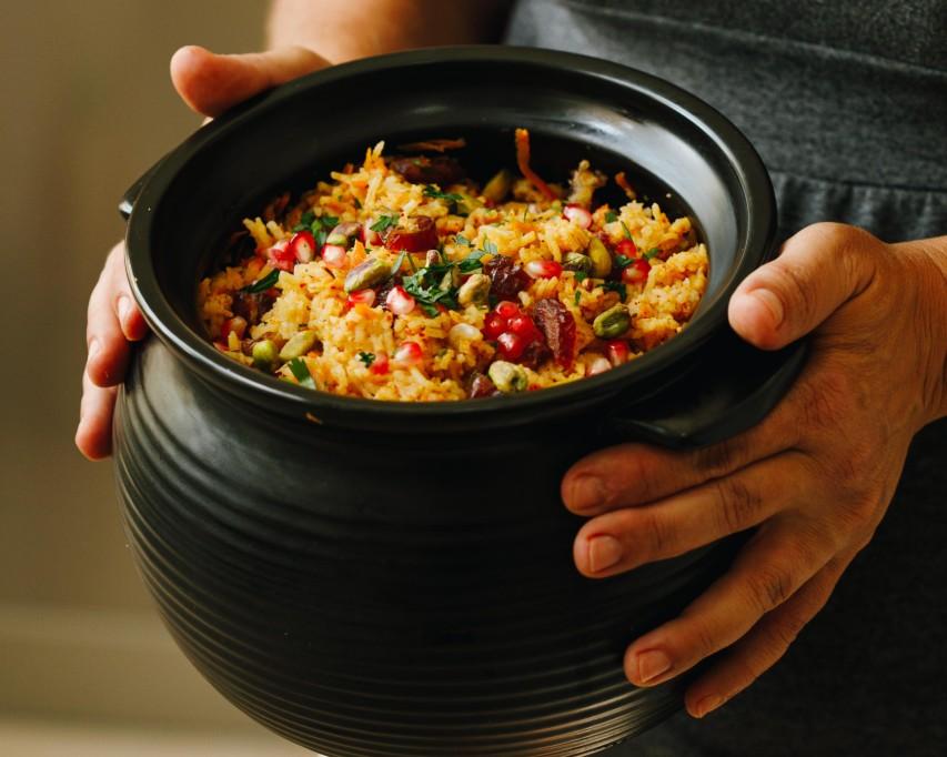 אורז חגיגי עם ירקות. צילום: שניר גואטה