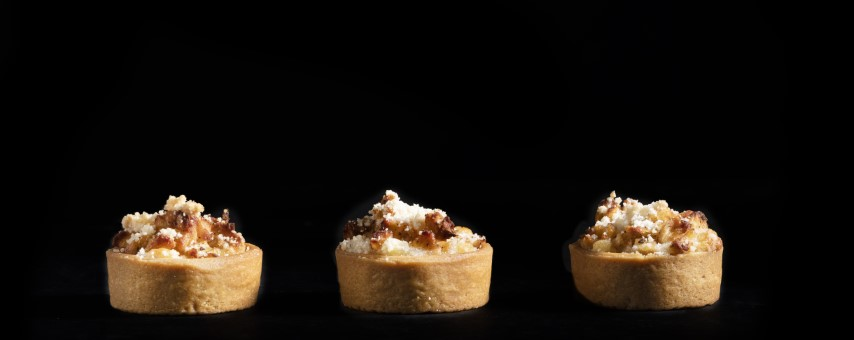 טארטלטים במילוי תפוחי עץ של מונייר. צילום: דניאל לילה