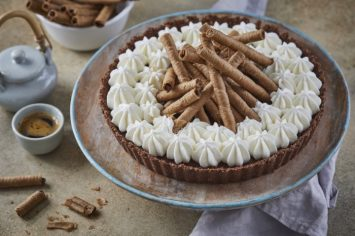 ה-עוגה של עוגיונת - פאי שוקולד וקצפת ללא אפייה