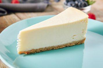עוגת גבינה ניו יורק קרמית ועשירה