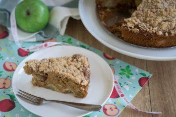 בשם התפוחים השקופים – עוגת תפוחים ושטרויזל חגיגית