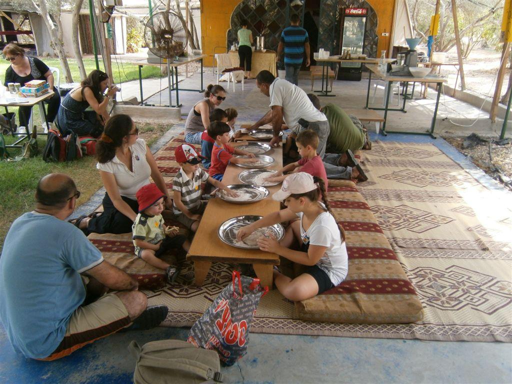 חווייה ייחודית בחוות הזיתים אלאדין. צילום: רימון ארצי
