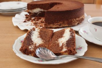 מתכון לעוגת שיש שוקולד קוקוס מוש... מושלמת!