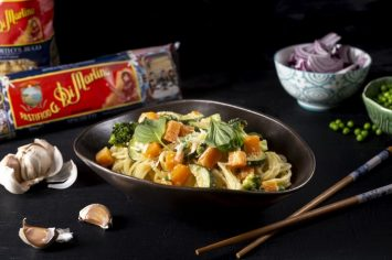 פסטה עם ירקות בסיר אחד