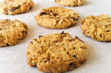 עוגיות שוקולד צ׳יפס טבעוניות וללא גלוטן