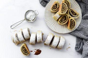 עוגיות מגולגלות במילוי נוטלה שאי אפשר להפסיק לזלול