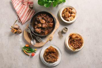 שבת אצל מאיר אדוני: חמין עם קציצת בשר מתוקה
