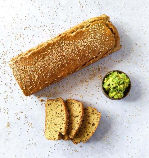 לחם קינואה ללא התפחה