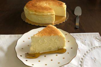 מלכת השבת – עוגת גבינה אפויה קלאסית