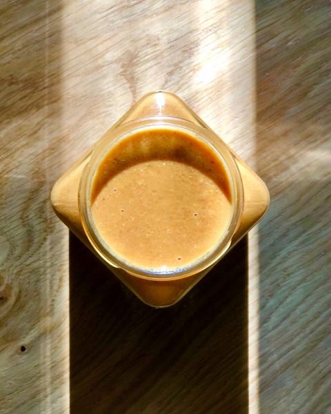 פרלינה - ממרח ביתי של אגוזי לוז מקורמלים