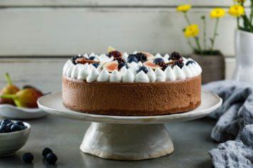 עוגת מוס שוקולד בעשר דקות