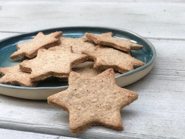 עוגיות ג׳ינג׳ר מקמח כוסמין