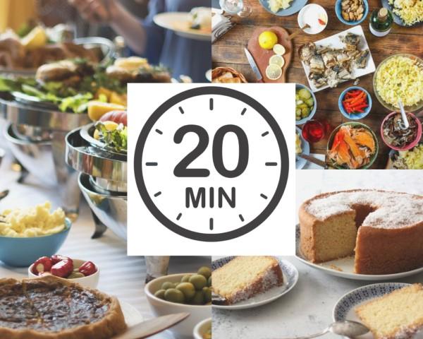 20 מתכונים ב-20 דקות (צילום: shutterstock)