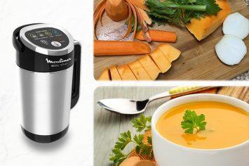 מרק כתומים חורפי ומושלם בלחיצת כפתור