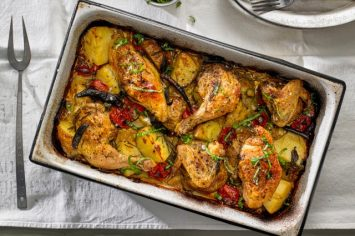 כמה פשוט ככה טעים - עוף וירקות בתנור שכולם כולם אוהבים
