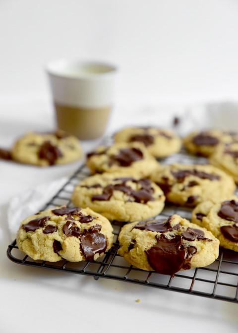 מגש עוגיות טחינה