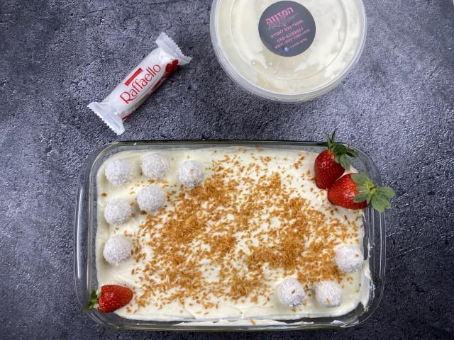 עוגת ביסקוויטים רפאלו