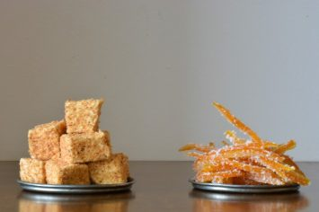 מה עושים עם קליפות התפוזים? קליפות הדרים מסוכרות מהממות
