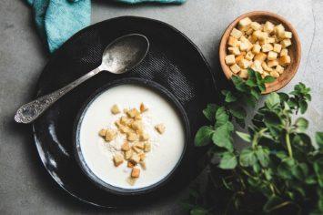 מרק כרובית מוקרם - כן, כזה טעים כמו פעם!
