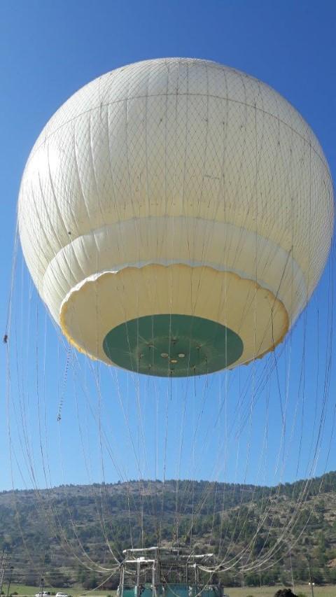 לטוס בכדור פורח במקום הכי יפה בארץ. צילום: אריאלה אפללו