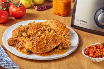 מנה מנצחת אצלכם בצלחת: עוף עם זיתים, לימון כבוש וסלט גזר מרוקאי