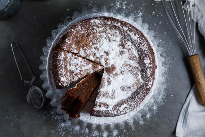 עוגת שוקולד ללא גלוטן. צילום: שניר גואטה