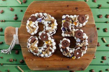 עוגת מספרים – הגרסה השוקולדית קרין גורן