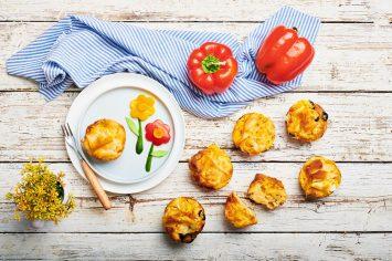 מאפינס גבינות שילדים אוהבים של השף תום פרנץ