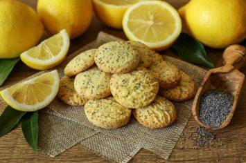 זהירות! סכנת התמכרות! עוגיות פרג ולימון