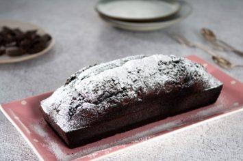 עוגת שוקולד עם קפה