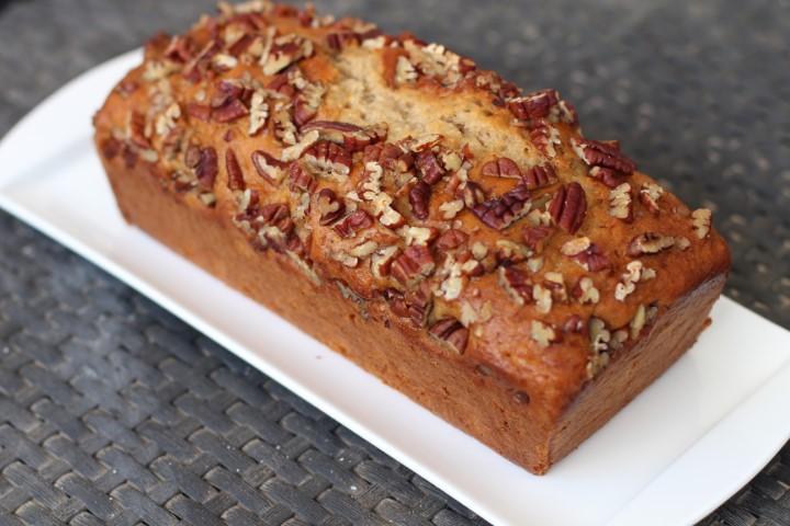 עוגת מייפל ופקאן מקמח כוסמין. צילום: נטע לויה
