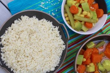 גם בריא וגם טעים - מרק ירקות לקוסקוס בלי קוסקוס