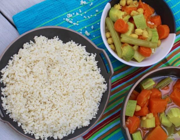 מרק ירקות לקוסקוס בלי קוסקוס. צילום: הילה סער