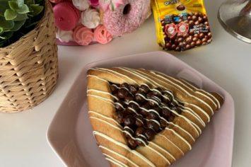 אוזן המן ענקית מלאה שוקולד וקליק