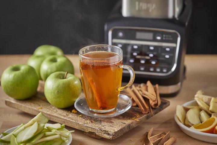 סיידר תפוחים חם (צילום: אפיק' גבאי)