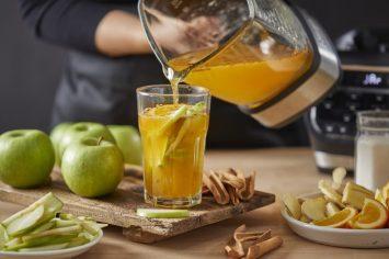 להתפנק ולהתרענן: סיידר תפוחים קר ביתי