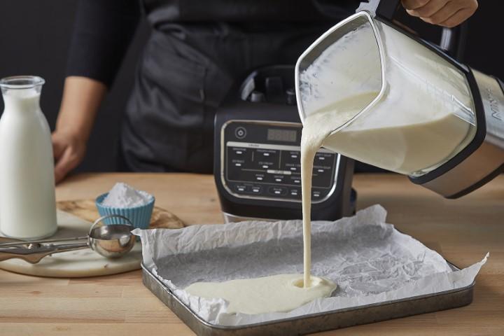 גלידת וניל נינג'ה (צילום: אפיק גבאי)