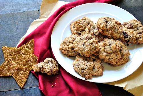 עוגיות קוסקוס ואגוזי פקאן
