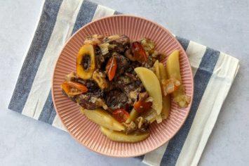 סדר קטן עם מנה גדולה: אוסובוקו בתנור