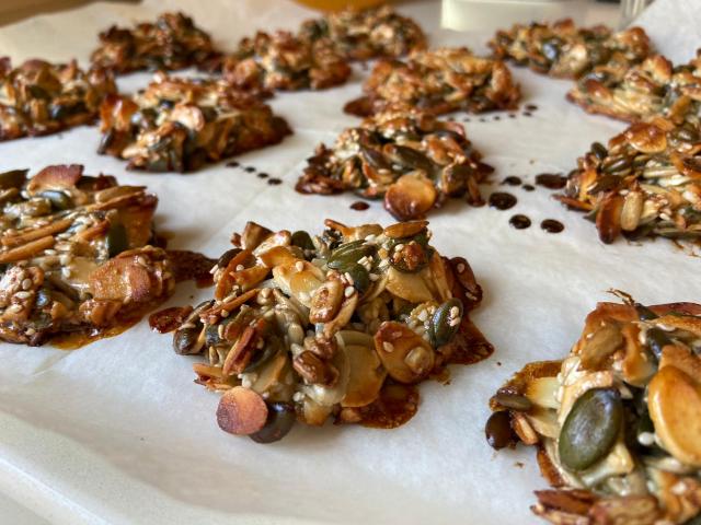 עוגיות פיצוחים: צילום רום מילשטיין