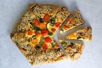 משכיח הדאגות של אסי: גלאט, מאפה עם מילוי מהמטבח הצרפתי