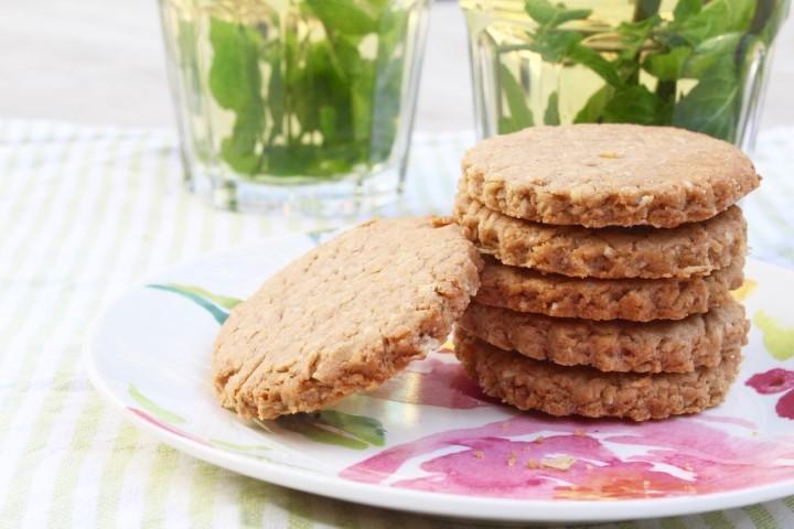 עוגיות סבתא מקמח כוסמין. צילום: הילה סער
