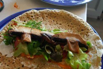 מה אוכלים בחופשת הקורונה? טורטייה כוסמת ירוקה