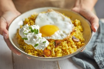 קיצ'רי עירקי - אורז עם עדשים ועם געגוע לשפיות ולסבתא